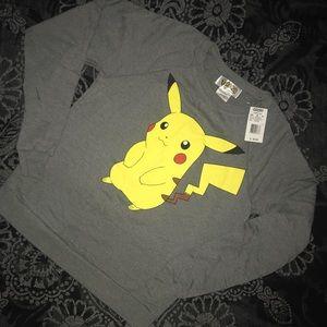 Pokémon pikachu sweatshirt NWT
